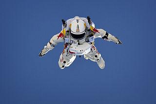 Skok spadochronowy Felixa Baumgartnera